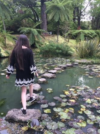 One of the ponds we found in the botanical garden