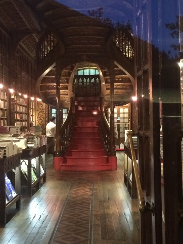 Livraria Lello after closing hours