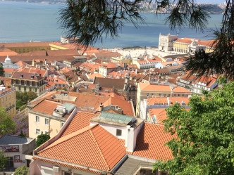 View from the Moorish castle